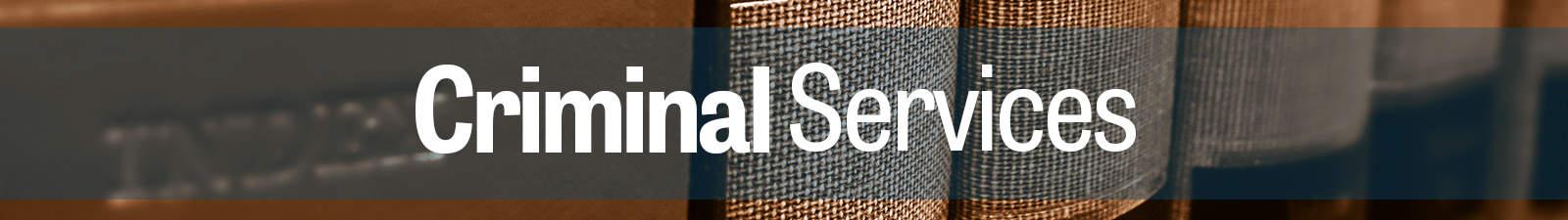Arizona Criminal Defense Services