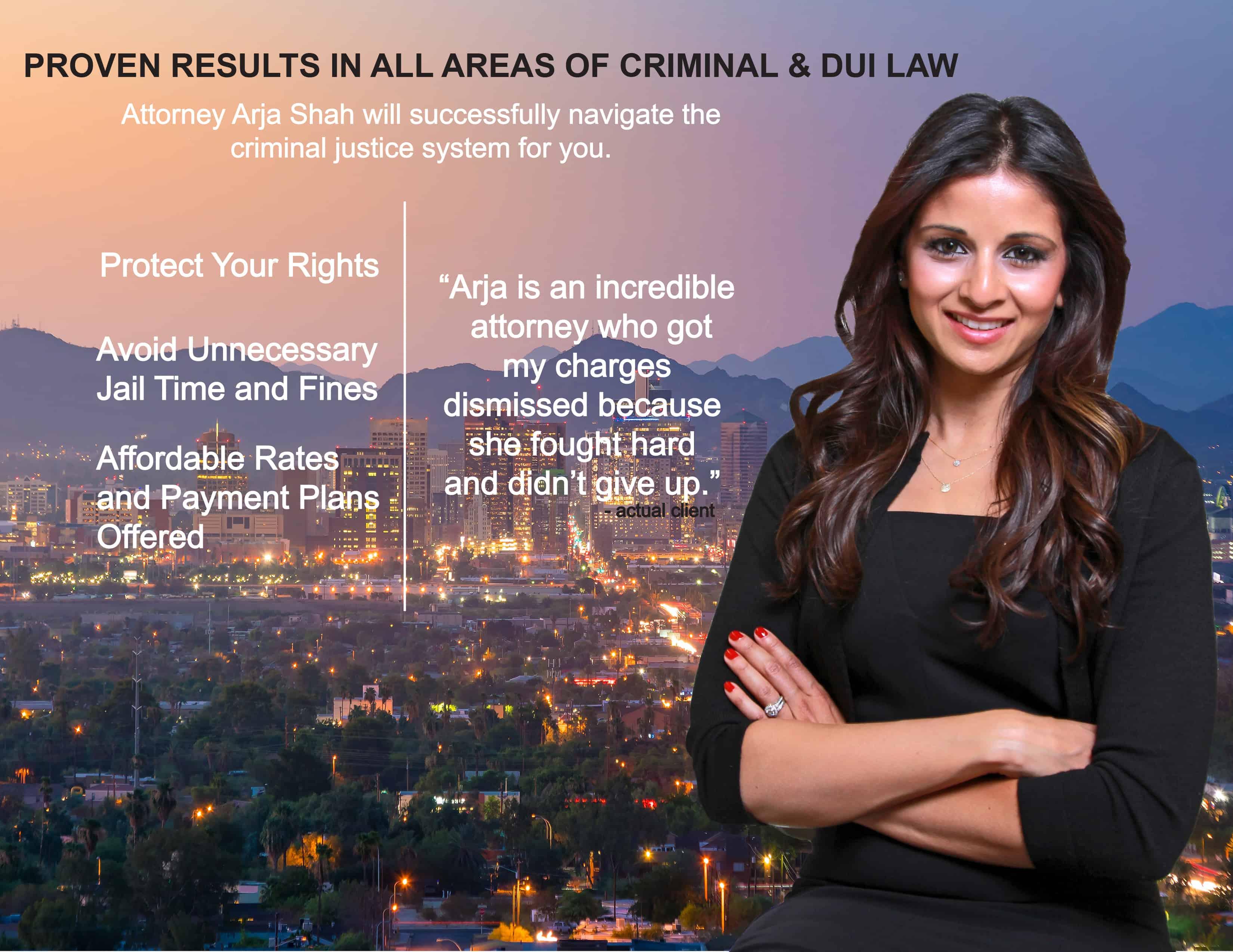 Attorney Arja Shah
