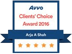 Arja Shah 5 Star Avvo Rating
