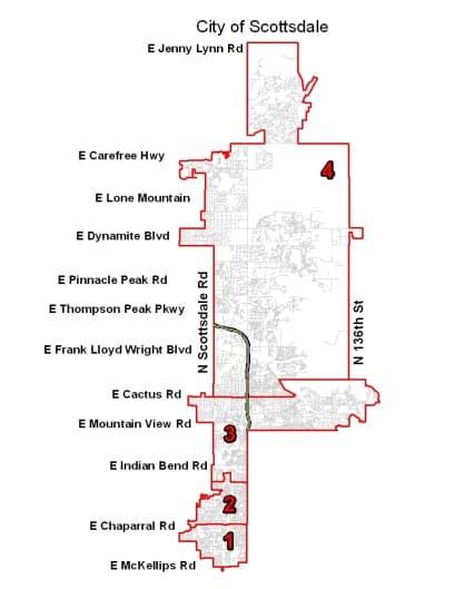 City of Scottsdale Jurisdiction Map