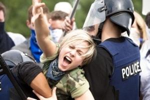 physically resisting arrest in Arizona