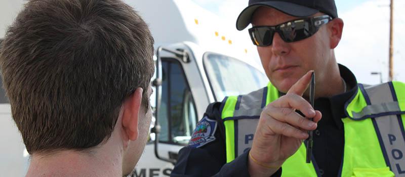 Underage DUI Sobriety Test