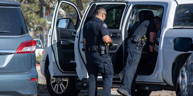 Police need a search warrant to search car