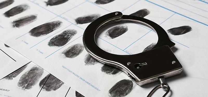 Fingerprints Taken After Arrested