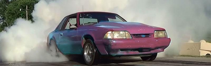 Illegal Car Burnout